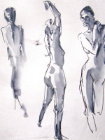 Life Drawing: Using Tone by Hester Berry