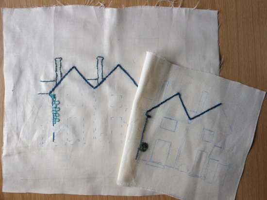 accessart village: Carbon paper used to transfer drawings onto cotton and evenweave fabrics