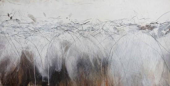 Flock Together exhibition artwork Sara Dudman