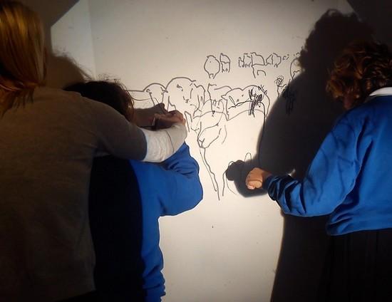 Using OHP projection - Sara Dudman