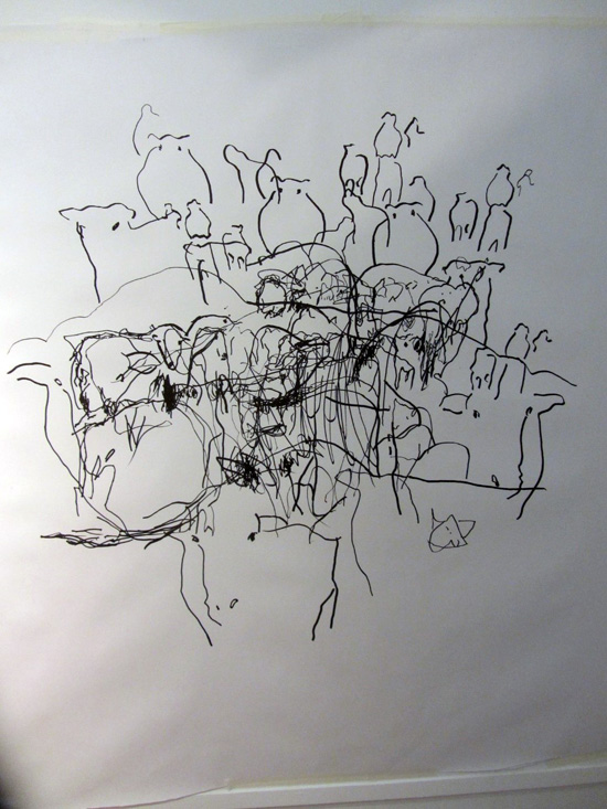 Amazing collaborative drawing! Sara Dudman