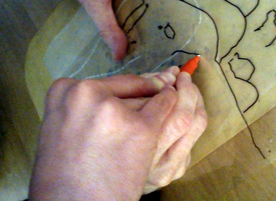 Using German Film to create a tactile drawing Sara Dudman