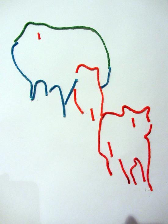 Wicky Sticks drawing detail 1 Sara Dudman