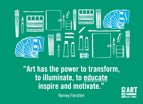 Find out how Cass Art supports Artist Educators and how you can benefit