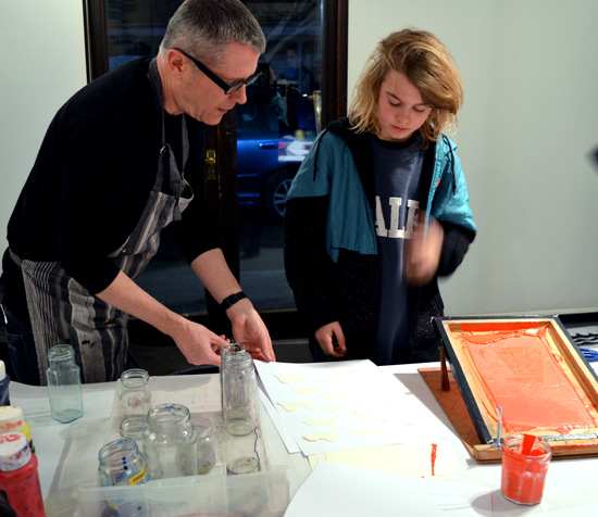 Screen Printing with Andy McKenzie