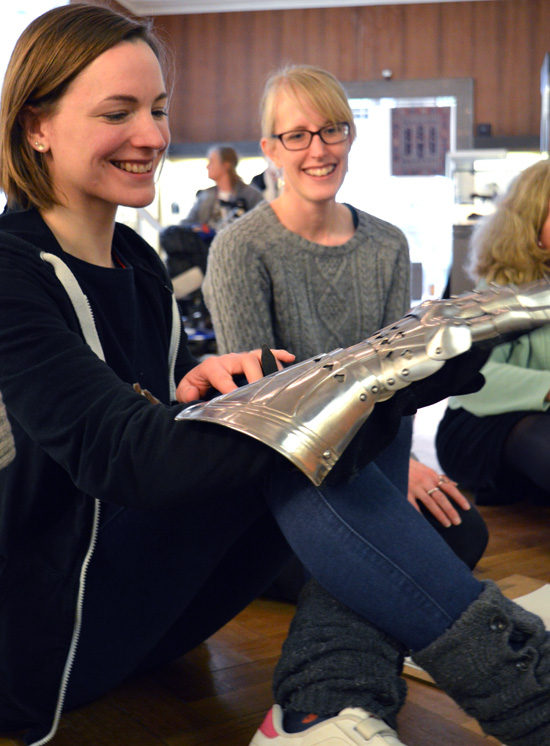 This post shares how Paula Briggs and Sheila Ceccarelli from AccessArt and Kate Noble from the Fitzwilliam Museum, Cambridge, enabled teachers to explore armour through discussion, drawing and mark making.