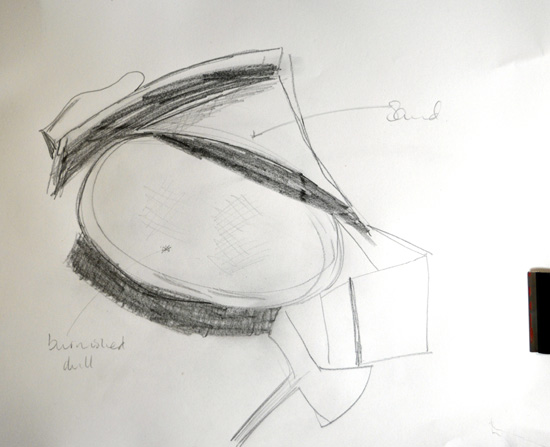 Barbara Hepworth - teacher uses drawing and annotation to take ideas back to the studio