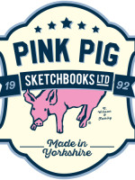 Very many thanks to Pink Pig Sketchbooks!