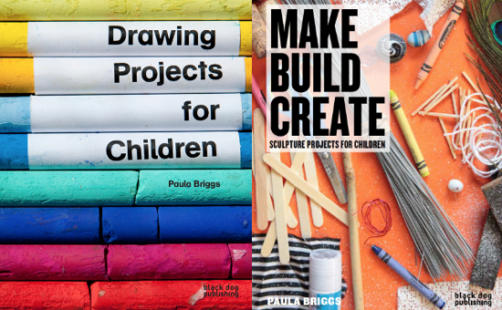 Drawing Projects for Children and Make Build Create are two beautiful books to inspire creativity in children. Find out how more and how to order direct.