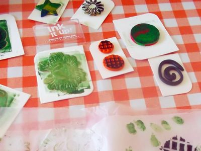 Some starting points from which to create printing projects using everyday materials.