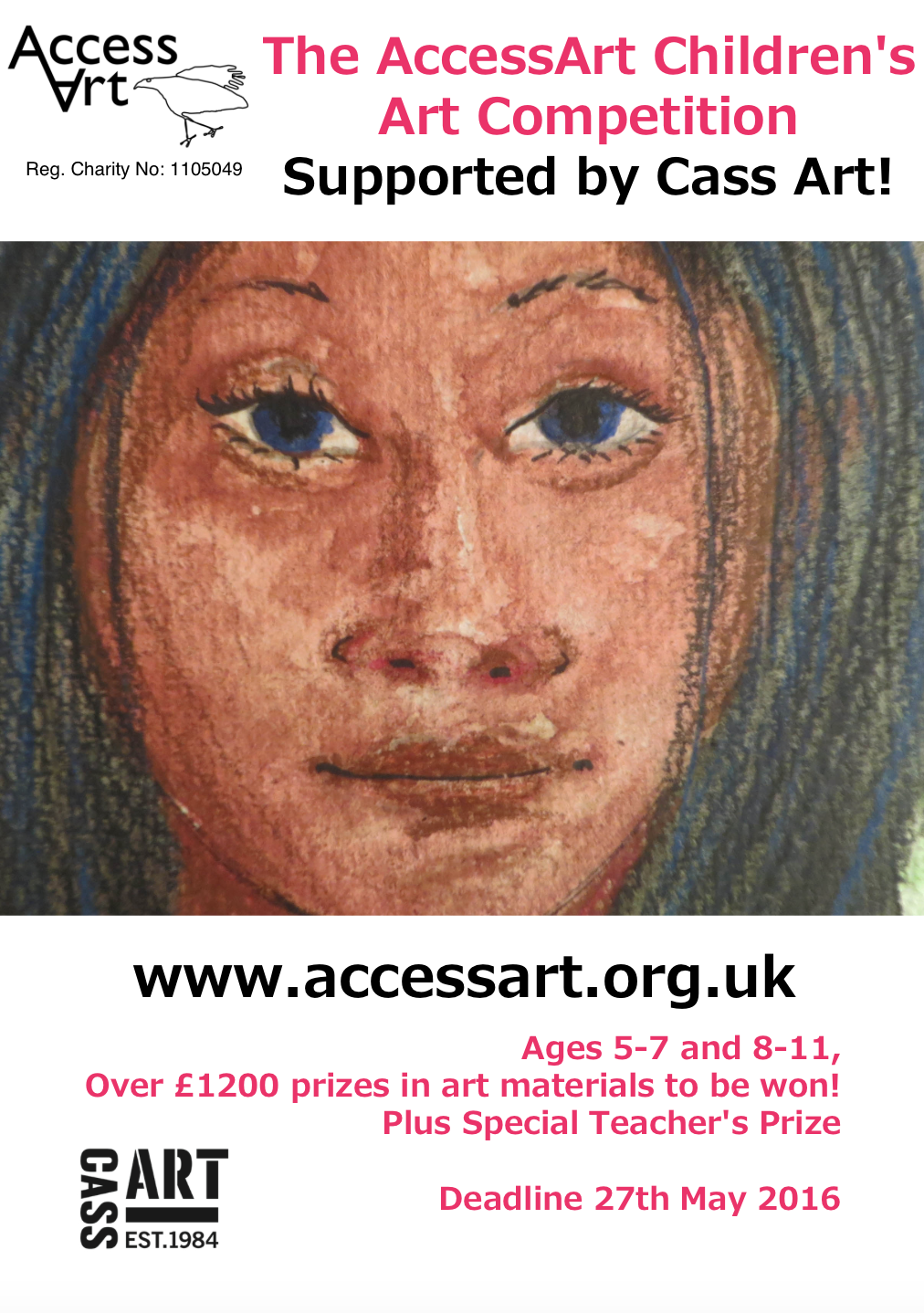 The AccessArt Children's Art Competition, Supported by Cass Art