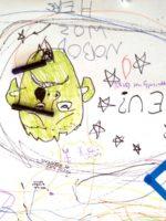 Graffiti floor - teenagers SC