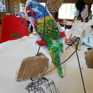 Teachers exploring creativity at Spinney Primary School