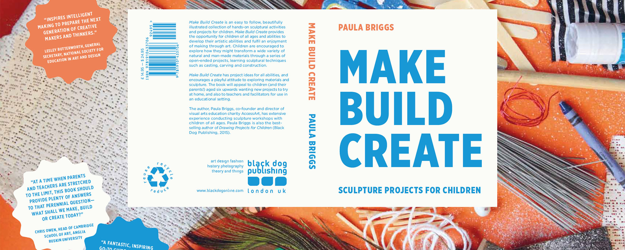 "Making is a vital skill. This book shares lots of ideas for making projects which encourage creativity, dexterity and curiosity. [themify_button style=""xlarge block"" link=""https://www.accessart.org.uk/make-build-create-sculpture-projects-for-children/"" color=""#78608e"" text=""#ffffff""]Read More[/themify_button]"