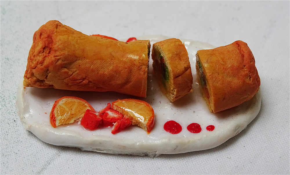 Fruit Pastry Roll