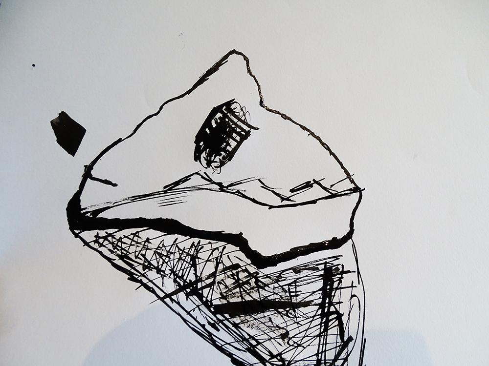 Nib and Ink Drawing