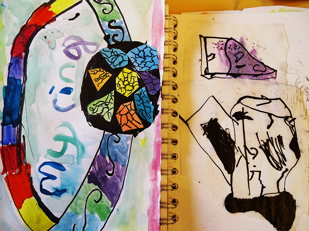 Developing Sketchbook Work with Pink Pig Sketchbooks