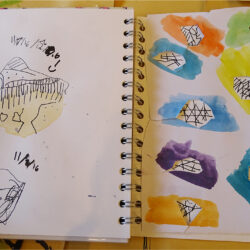 Using sketchbooks as a tool to inform design