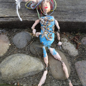 "Inspired by Rio 2016, the AccessArt Friday Club made dolls from modroc and wire, exploring costumes and personality! These dolls started out on their journey as marionettes but by the time the children had connected all the body parts the dolls were so satisfylingly ""floppy"" that they decided to keep them as dolls rather than puppets.  To turn your doll into marionette, see the resource above 'Making a Marionette'."
