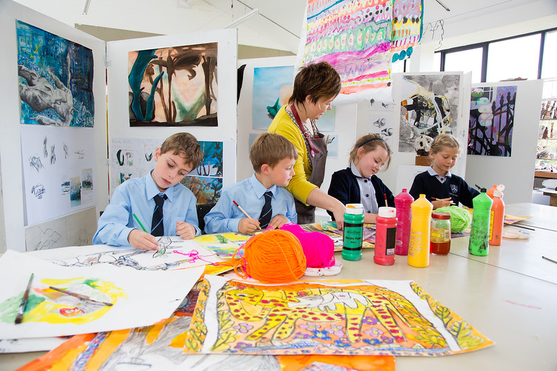 jan miller our talented art teacher winner