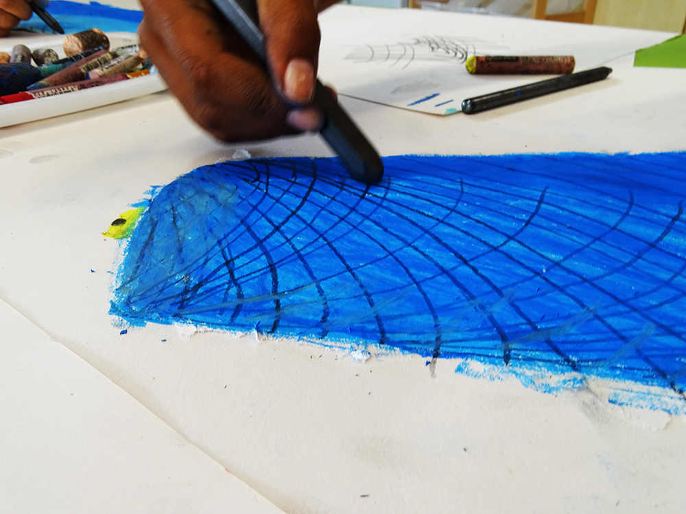 Graphite contours