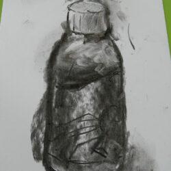 Pupil\'s begin sketchbook work