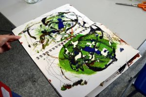 Arts and Minds - Asemic Writing - week three -SC