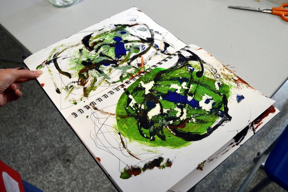 Arts and Minds - Asemic Writing - week three -SC