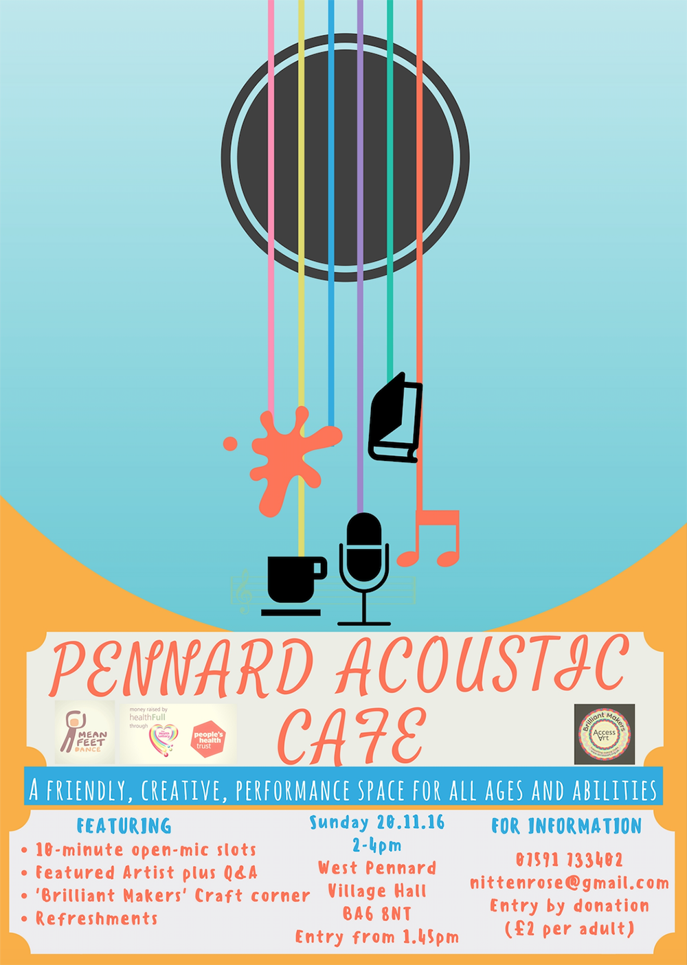 Pennard Accoustic Cafe & Brilliant Makers Club