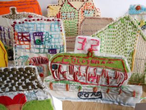 This resource marks the turning point of the AccessArt Village Project and when the idea took off for the stitched houses to be transformed into 3D stand alone pieces.  In this post Andrea Butler shares with participants the process.