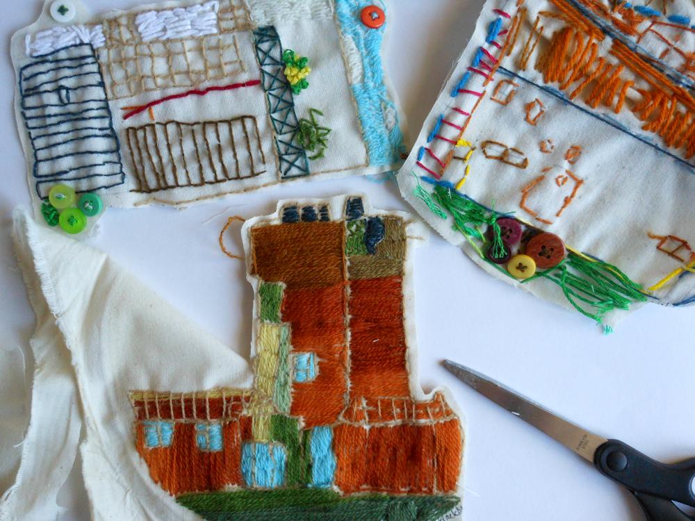 AccessArt Village: making a 3D stitched model