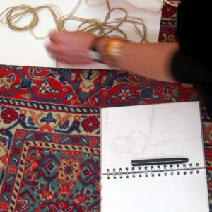 AccessArt encourages teachers to take a closer look at 18th Century portraits through drawing, and then to use string as a drawing tool to build their own interpretation of the portrait. This is an activity that could be adapted for all ages.