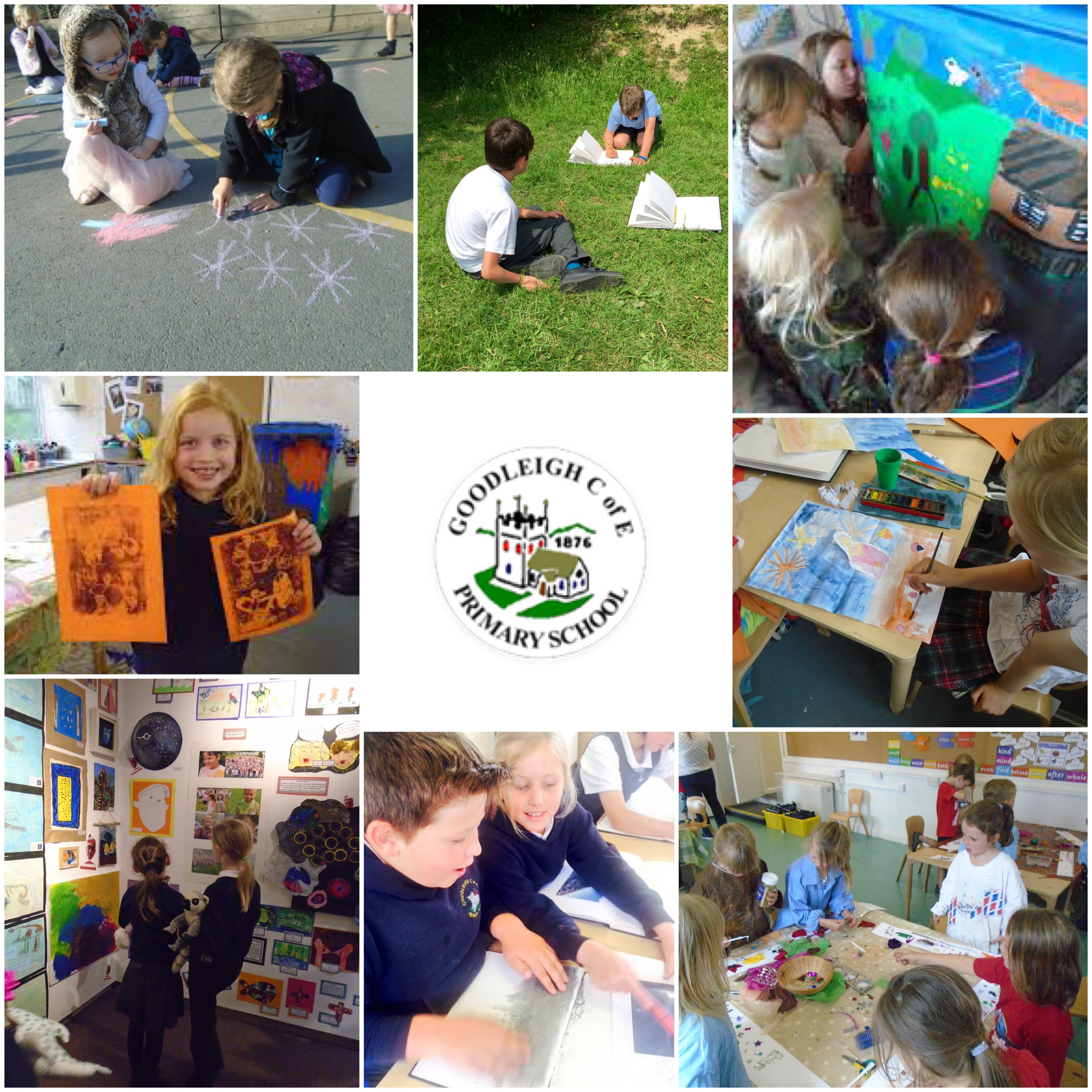 Goodleigh Brilliant Makers Art Club