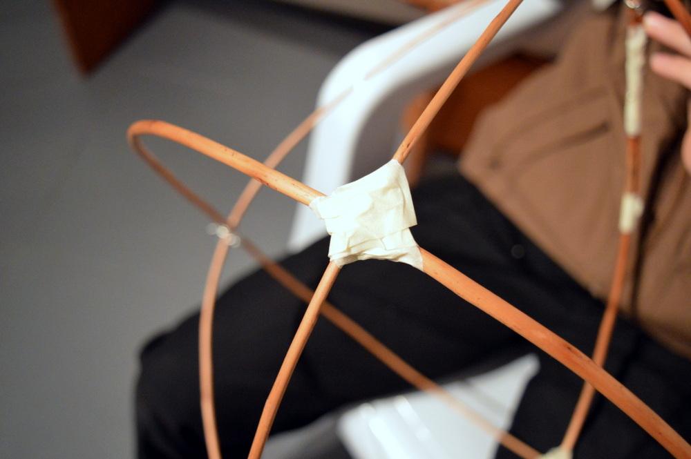 Masking tape joint - SC