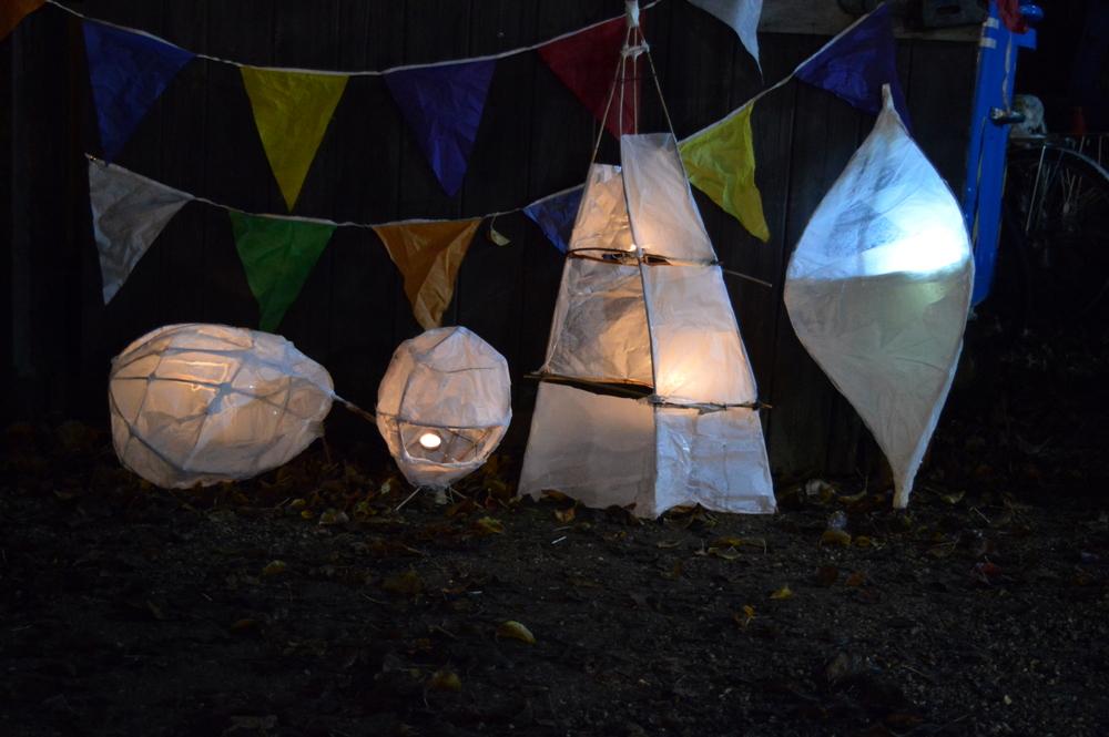 making withie lanterns - SC