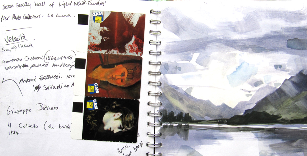 Landscape Painting: The role of the sketchbook by Hester Berry