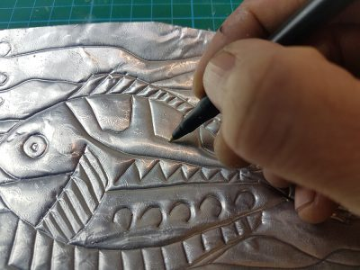 A low cost and more manageable alternative to the process of etching and engraving used in industry and throughout history.