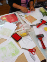 InSET Day at Welland Academy: Exploring Printmaking Processes