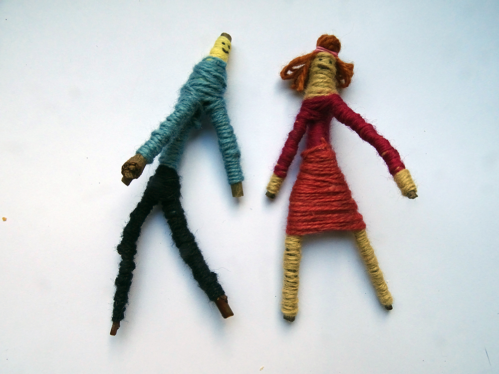 Stick Man Worry Dolls