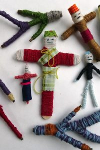 A selection of worry dolls