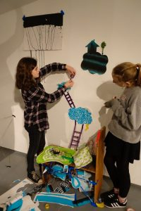 Astrid and Jasmine building their narrative in space - melissa murray