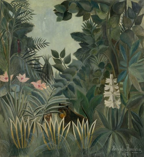 """We're looking for two artists/educators to devise a workshop/lesson plan inspired by the work of Henry Rousseau suitable for use in primary schools.  Fee: £42 Deadline: 13th May 2017 [themify_button style=""""xlarge block"""" link=""""https://www.accessart.org.uk/henry-rousseau-project/"""" color=""""#78608e"""" text=""""#ffffff""""]Read More[/themify_button]"""