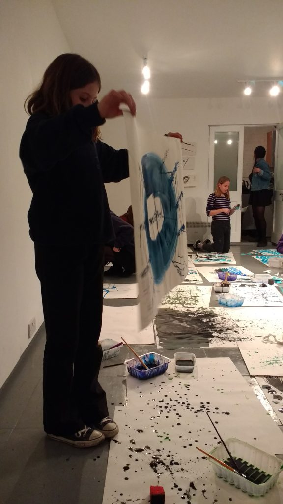 Inky Objects workshop by Melissa P Murray at Cambridge ArtWorks