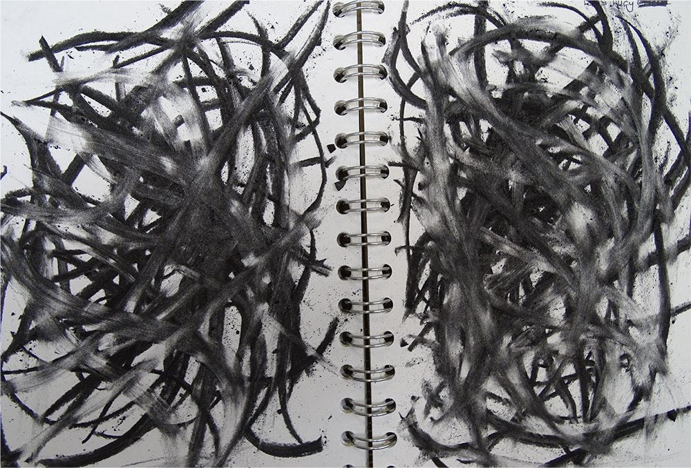 exploring charcoal untuitively