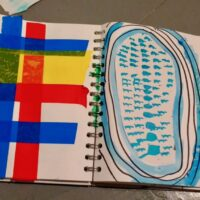 Sketchbook entry - unknown - Sketchbooks to develop ideas SC
