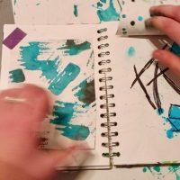 Some of Astrid's sketchbook entires _ Sketchbook ideas SC