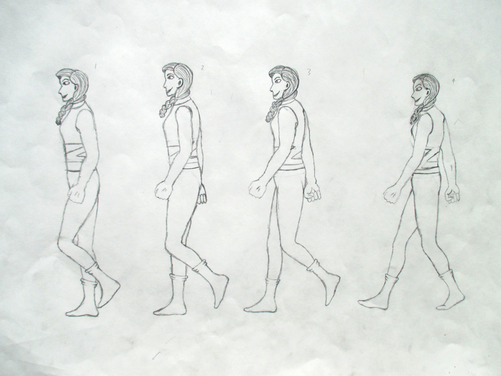 Create an Animated Walk Cycle by Esme Dawson