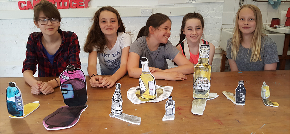 The AccessArt Art Lab for ages 10, 11 and 12