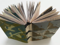 Sketchbooks Made with Screenprinted Papers