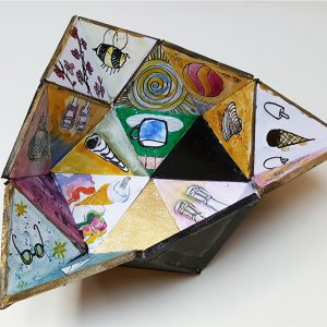 triangular bowl